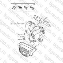 Каталог Выпускной коллектор (EURO-3) Geely MK08