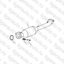 Каталог FRONT EXHAUST PIPE Geely Emgrand X7