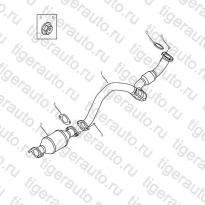 Каталог FRONT EXHAUST PIPE# Geely Emgrand X7