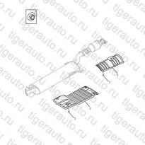 Каталог HEAT INSULATOR# Geely Emgrand X7