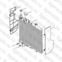 Каталог Радиатор (MT) Geely MK08