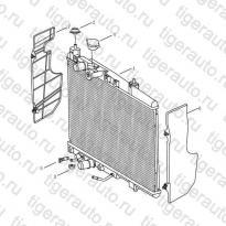 Каталог Радиатор (AT) Geely MK08