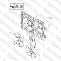 Каталог COOLING FAN Geely Emgrand X7