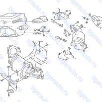 Каталог CATALYST CONVERTER Luxgen 7 SUV