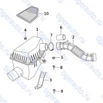 Каталог AIR SUPPLY SYSTEM Chery Very (A13A)