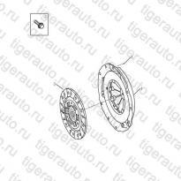 Каталог Сцепление (JL-S160A) Geely MK08