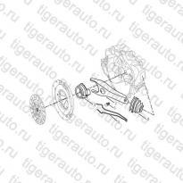Каталог Выжимной подшипник (JL-S160G) Geely MK Cross