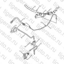 Каталог CLUTCH PIPE Geely Emgrand EC8