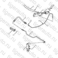 Каталог CLUTCH# PIPE Geely Emgrand EC8