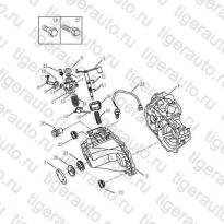Каталог TRANSMISSION CASING Geely Emgrand X7