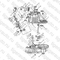 Каталог TRANSMISSION CASING#2 Geely Emgrand X7