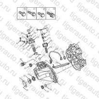 Каталог Корпус трансмиссии (JL-S160G) Geely MK08