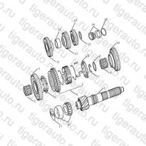 Каталог OUTPUT SHAFT Geely Emgrand X7