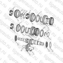 Каталог Первичный вал (JL-S160A) Geely MK Cross