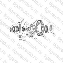 Каталог DIFFERENTIAL Geely Emgrand X7