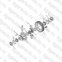 Каталог DIFFERENTIAL# Geely Emgrand X7