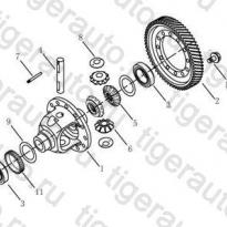 Каталог DIFFERENTIAL# Geely Emgrand EC8