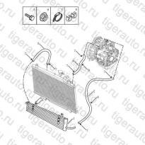 Каталог Радиатор трансмиссии (JL-ZA142) Geely MK08