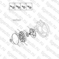 Каталог Масляный насос трансмиссии (JL-ZA142) Geely MK08
