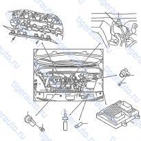 Каталог ENGINE CONTROL MODULE Luxgen 7 SUV