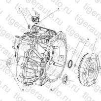 Каталог 6AT TRANSMISSION CASING Geely Emgrand X7