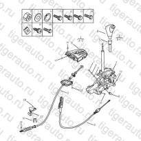 Каталог Рычаг переключения передач (JL-ZA142) Geely MK Cross