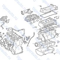 Каталог ENGINE GASKET KIT Luxgen 7 SUV