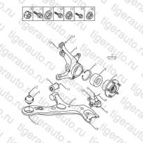 Каталог LOWER TRAILING ARM Geely Emgrand X7