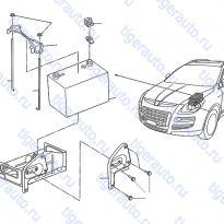 Каталог BATTERY & MOUNTING Luxgen 7 SUV