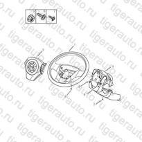 Каталог Рулевое колесо Geely MK Cross