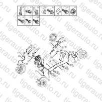 Каталог Тормозные магистрали (ABS MK70) Geely MK Cross