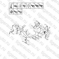 Каталог Тормозные магистрали (W/O ABS) Geely MK Cross