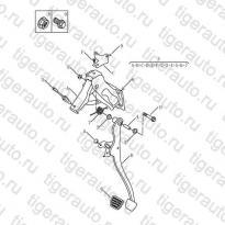 Каталог BRAKE PEDAL Geely Emgrand X7