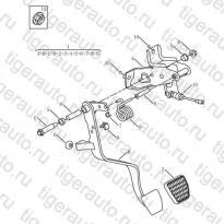 Каталог CLUTCH PEDAL Geely Emgrand X7