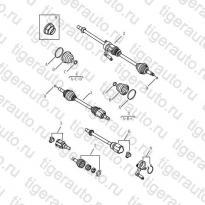 Каталог DRIVING SHAFT Geely Emgrand X7