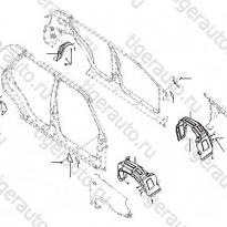 Каталог Наружние боковые крепления кузова Lifan Smily