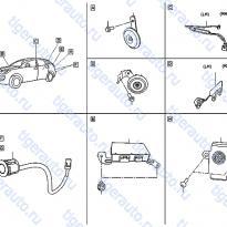 Каталог ELECTRICAL UNIT & CONTROL MODULE (2) Luxgen 7 SUV