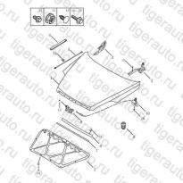 Каталог ENGINE HOOD Geely Emgrand X7