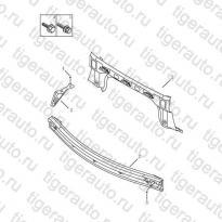 Каталог REAR END PANEL Geely Emgrand X7