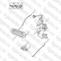 Каталог BACK DOOR LOCK Geely Emgrand X7