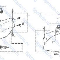 Каталог HEAD LAMP Luxgen 7 SUV