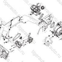 Каталог Система воздушного кондиционера Lifan Smily