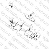 Каталог INNER REARVIEW MIRROR Geely Emgrand X7