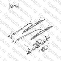 Каталог FRONT WIPER Geely Emgrand X7