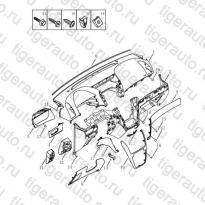 Каталог DASH BOAED Geely Emgrand X7