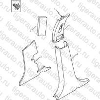 Каталог Накладки центральных стоек Geely MK Cross