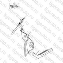 Каталог Накладки задних стоек Geely MK Cross