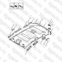 Каталог INTERIOR TRIM BOARD,ROOF PANEL Geely Emgrand X7