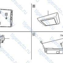Каталог ROOM LAMP Luxgen 7 SUV
