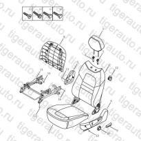 Каталог LF SEAT CUSHION & BACK Geely Emgrand X7